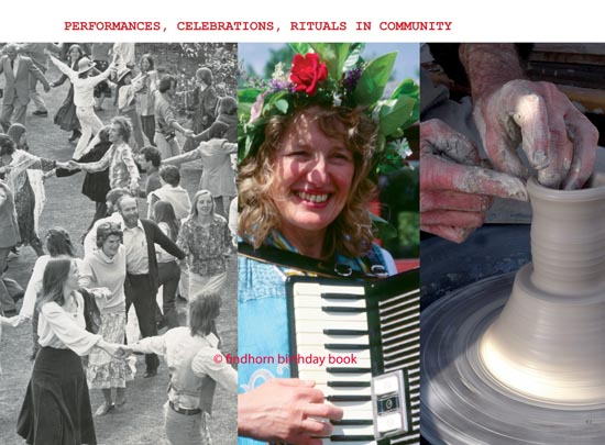 Findhorn Birthday Book- chapter Arts Music